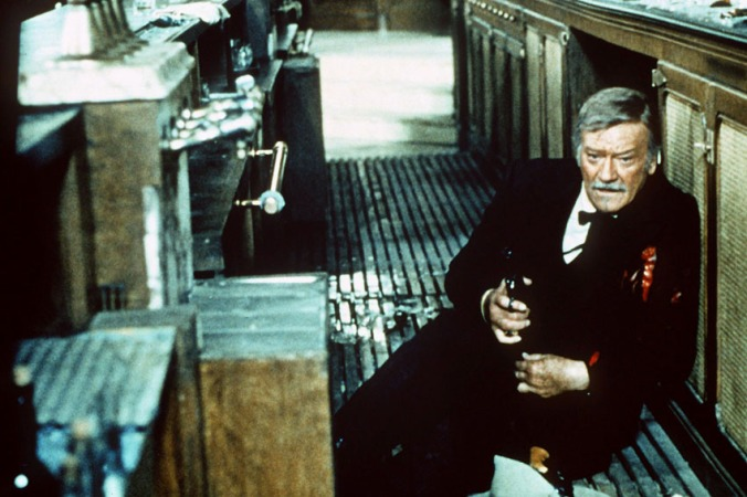 JOHN WAYNE THE SHOOTIST (1976)